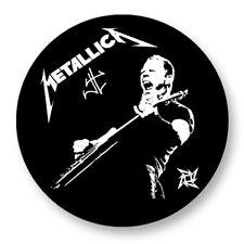 "Pin Button Badge �˜25mm 1"" Metallica Heavy Metal Thrash US"