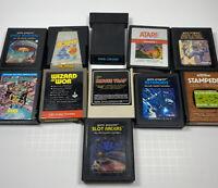 VINTAGE Lot Of 11 Vintage Atari 2600 Games Untested