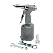 Heavy Duty Air Rivet Gun with Nose Pieces for 3/16 5/32 1/8 3/32 Rivets