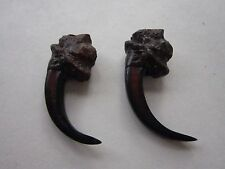 "2  EAGLE TALONS/CLAWS 2""  REPLICA RESIN TRIBAL CRAFTS SKULL COYOTE"