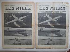 AILES 1937 858 LATECOERE 298 SNCM MONT LACHAT RENARD R-36 ALTITUDE MASK OXYGENE