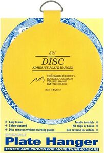Original Disc Adhesive Plate Hangers 5.5 Inch