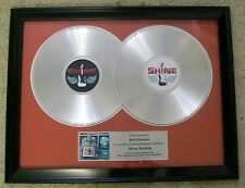 Custom Double Platinum or Gold LP Record Award Trohpy RIAA Style Personalized
