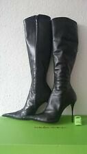 Gr. 41 Les Baisers des Etoiles Damen High Heels Stiefel Leder