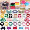 Baby Girls Toddler Bowknot Headband Soft Elastic Hair Wrap Headwear Accessories