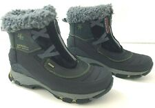 MERRELL Winterlude Zip Polartec Womens 6M Winter Boots Waterproof Black