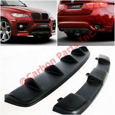 BMW X6 E71 Rear & Front Bumper Diffuser Set Kit