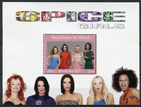 Chad 2018 MNH Spice Girls Reunion Tour Ginger Sporty Baby 1v M/S Music Stamps