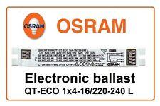 Electronic ballast QT-ECO 1x4-16/220-240L OSRAM CFL 1x 5W 7W 9W 10W 11W 13W