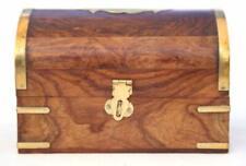 Wooden Fantastic Treasure Chest Trinket Box Size 6x4
