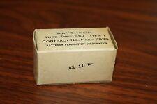 RAYTHEON TYPE 957 VINTAGE ACORN TUBE -- NEW OLD STOCK IN BOX NOS