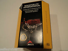 MSR WhisperLite International Stove  Multi-Fuel   New in a Box