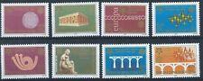 SERBIA & MONTENEGRO 2005 SG132-139 Anniversary Europa Set Mint MNH
