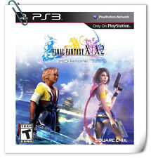 2 IN 1 PS3 FINAL FANTASY X / X-2 HD REMASTER FF 10 Sony Square Enix RPG Games