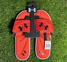 Under Armour Ignite Morph FS Slides Beta Red/White/Black Size 11