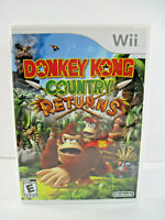 Donkey Kong Country Returns (Nintendo Wii, 2010) Tested Complete