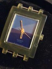 Reloj de Cuarzo para Hombre Damas Swatch Cabeza. Raro.
