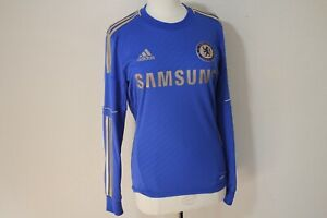 Chelsea F.C Football Club Soccer Adidas Jersey Long Sleeve Men's Small