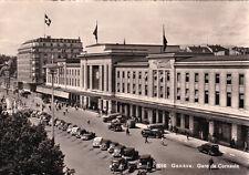 CPA SUISSE SCHWEIZ GENEVE 8016 gare de cornavin