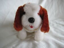 St. Bernard Dog Walking by step, Sitting and Crying Battery Operated