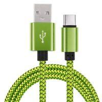 USB 3.1 Tipo C Rápido Cargador Datos Cable para Samsung Galaxy S8/Huawei P20 Pro