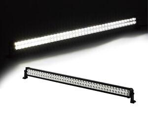 "Xprite 42"" 240W Offroad Light Strip Spot Flood Combo Straight LED Work Light Bar"
