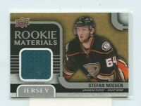 Stefan Noesen 2015-16 Upper Deck Rookie Materials Jersey Relic RM-SN Ducks
