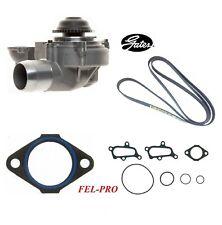 tq Gates Engine Water Pump for 2001-2005 Chevrolet Silverado 2500 HD 6.6L V8
