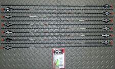 New 12 Easton FMJ 300 Spine 5mm Arrows- Full Metal Jacket-12.0 GPI-Cut/Insert Av