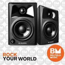"""M-Audio AV32 Desktop Powered Media Speaker Monitors 3 Inch Driver  3"""" AV-32"""