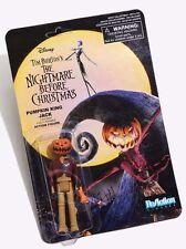 "Disney Nightmare Before Christmas NBC Pumpkin King Jack 3.75"" Tall ReAction New"