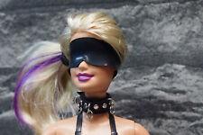 Doll Bondage collar for 1/6 scale female dolls, Phicen, Barbie, Ken JIAOU doll