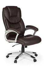 Chaise de bureau pivotante siège de direction BILBAO -marron