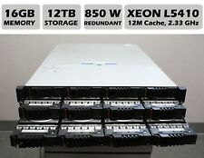 XYRATEX IBM HS-1235E 12 BAY RAID/FREENAS Server XEON L5410 2.3GHz / 16GB / 12TB