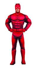 Men's Deluxe Classic Daredevil Costume Superhero Size Standard