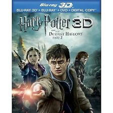 Harry Potter And The Deathly Hallows Part 2 3D Blu-ray