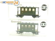 E135 Egger-Bahn H0e 20011 2x Personenwagen Nebenbahn 2./3. Klasse grün