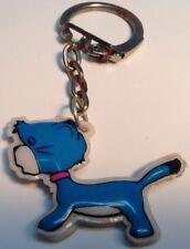 Vtg Kid's KEYCHAIN, Cute lil Blue Animal / PORTE-CLÉS D Enfant, Animal Bleu