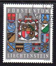 Liechtenstein 1973 Coat of arms Mi. 590 FU
