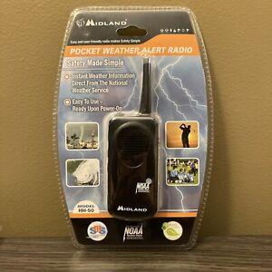 New Pocket Travel Midland HH50 Pocket Weather Radio Severe Weather Information