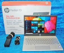 "HP Pavilion 13-an0031wm 128 GB SSD 8 GB Ram Intel Core i3-8145U 2.1GHz 13.3"" FHD"