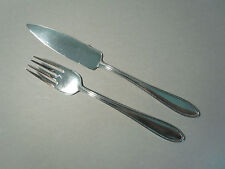 WMF 500 Perlrand Fischbesteck für eine Person 90er Silber