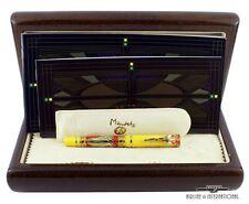 Omas Mandela Fountain Pen 4-Piece Gold Matching Number Set (3-Factory Sealed)