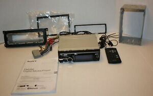Sony DSX-S310BTX FM AM Digital Media Player USB w/ Remote Mounting Bracket Plus