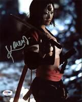 Karen Fukuhara Suicide Squad Authentic Signed 8X10 Photo Autographed PSA/DNA 10