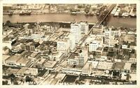 1940s Aerial View Tacoma Washington RPPC Real photo postcard 12282