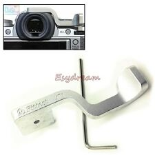 Silver Metal Hot Shoe Thumb Up Grip Perfect For Fujifilm XT1 X-T1 IR Only