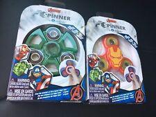 Marvel Avenger Iron Man  Hulk Fidget Spinner - NIB New
