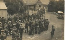 Frith Hill Camp # 4. Soldiers at Frimley Railway Station.