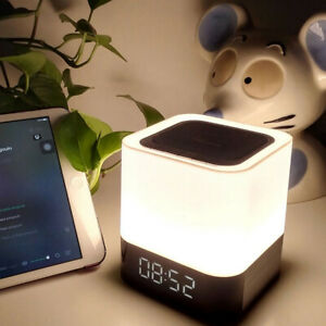 WIRELESS BLUETOOTH SPEAKER COLORFUL LED LIGHT BLUETOOTH SPEAKER SUPPORT TF SD Ca